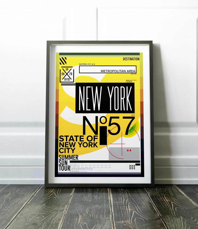 New York Print Wall Art Print New York Poster Travel Print