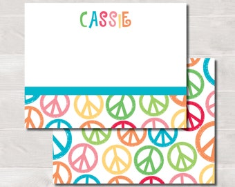Kids Flat Notes, Peace Sign