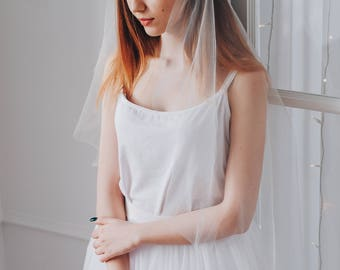 JULIET | Juliet cap veil, wedding veil, bridal veil, veil wedding, ivory veil