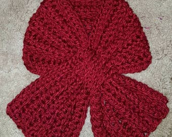 Weave Through Scarflette in color of your choice