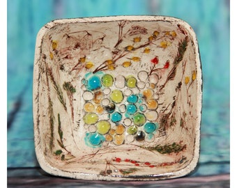 Ceramic Hand Painted Crockery - Ceramic Bowl - Ceramic Pot - Housewarming Gift - Kitchen Decor - Wedding Gift - Hand Painted Bowl