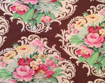 5 yards Nicole Mod Girls Jennifer Paganelli Sis Boom Free Spirit Scroll Floral Fabric