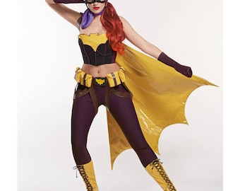 Simplicity Pattern 8197 Misses' Costume Pinup Bombshell Batgirl Sized 6-14