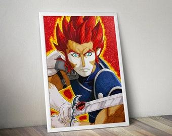 Liono - Thundercats Illustration
