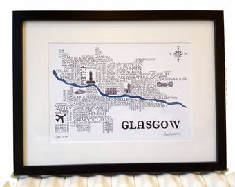 Glasgow Word Map