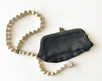 Vintage Black Coin Purse