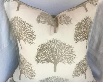 Orchard Trees in Dusk Pillow Cover