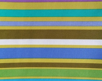 Garden Stripe Print by Michael Millar-for quilting, sewing, home decor.