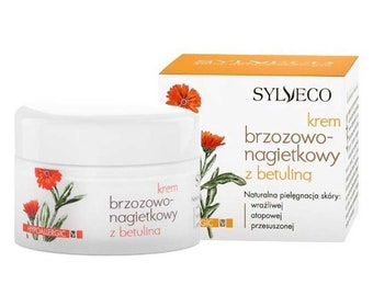 Calendula and Birch Moisturizing Cream with Betulin