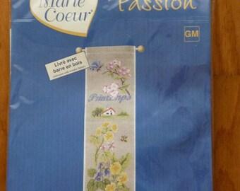 Spring banner cross stitch Kit
