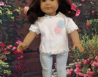 Doll Outfit for a Cool Summer Evening, fits 18 inch dolls