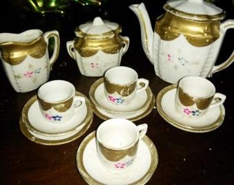 Antique Miniature Tea Set made in Japan