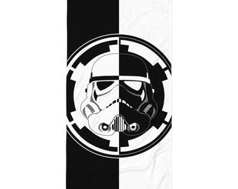 B&W Trooper Logo Towel