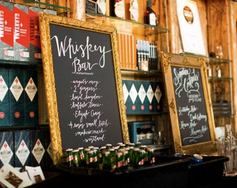 Bar Sign | A Chalkboard