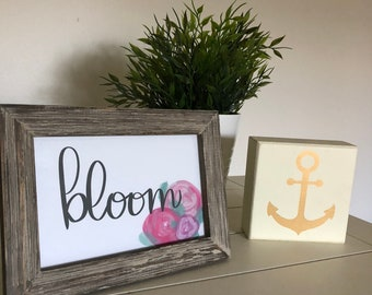 Bloom-Spring Quote Wall Print