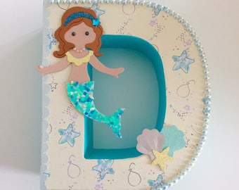 Decorated letter large *Offer Price* nursery wall art