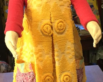 Yellow Chenille - SORRY, SOLD!