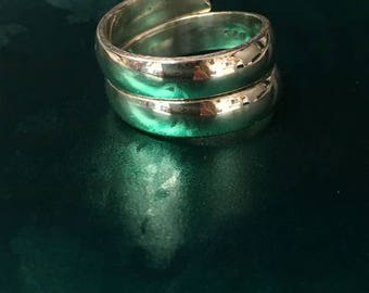 ONE Sterling Silver Bypass Ring