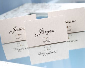 wedding place cards, place cards for wedding, white place cards, ivory place cards, wedding name cards, place cards, name cards for tables