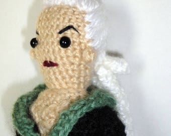 Jeanette (Secret Six) - Handmade crochet original design doll