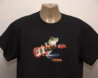 Electric Guitar Frog T-Shirt