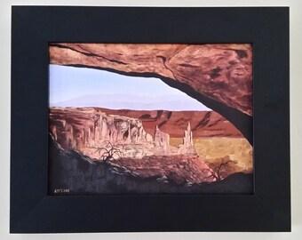 Mesa Arch, Utah. Original Oil Painting