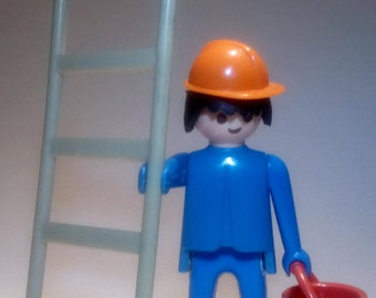 PLAYMOBIL 3118 - Has /Ouvrier and scale - vintage 1974 collection - without box and instructions.