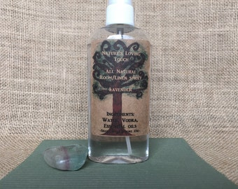 Lavender All Natural Room/Linen Spray Made With Essential Oils and with Love, No Sulfates, No Parabens, No Artificial Fragrance or Color