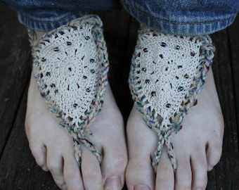 Crochet Fairy Shoes