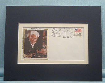 Academy Award Winner - Spencer Tracy and his own Commemorative Envelope