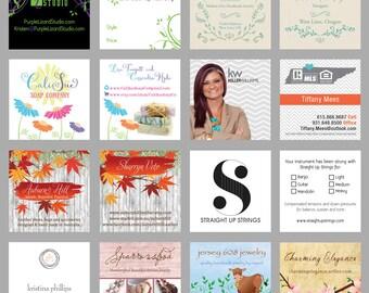 Business Card Design, Hang Tag Design, Care Card Design, Etsy Business Card, Real Estate Agent, Hair Stylist, Salon, Custom, Graphic Design