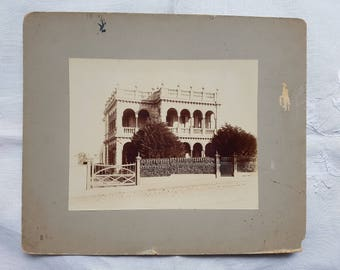 Vintage Photo House South Yarra Melbourne Collectable