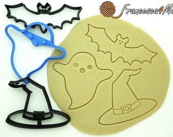 Spooky Cookie Cutters/Set of 3/Multi-Size