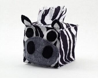 Zebra Plush Animal Block