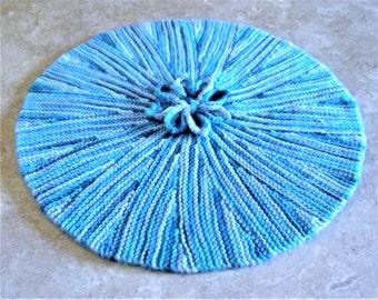 """12"""" round  flower mat"""