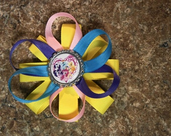My Little Pony Hair Bow All of Them Yellow