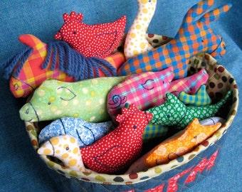 Little Softies - BIG Farm Set - pdf sewing pattern
