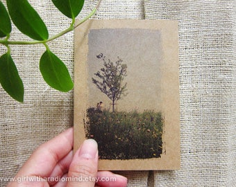 Spring Notebook 42. Spring, Japan - Pocket Notebook on the Go - Lone Tree Small Inspiration Journal