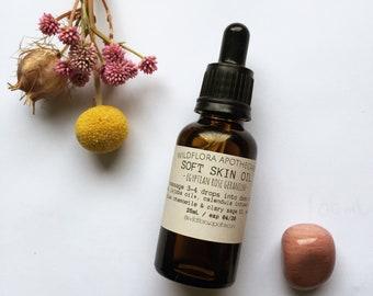 FACIAL SERUM - Soft Skin Oil (Rosehip oil blend)
