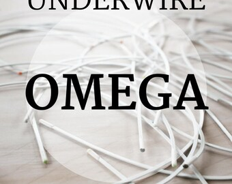 Omega Bra-Underwires! 1 pair Sizes 34 - 52