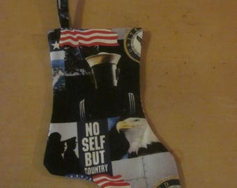 All Occasion Stocking, Made In The USA: Navy