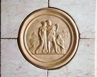 terracotta reliefs