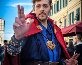 Doctor Strange Movie Costume Cosplay Marvel Superhero Adult Stephen Strange