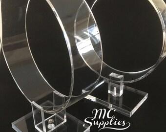 Acrylic headband stand,headband display,headband holder,display for headbands,craft fairs,hair accessory display,acrylic headband holder.
