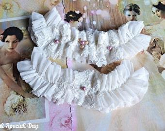 Wedding Garter, Wedding Garter Set, Ivory Lace Garter, Wedding Garters, Handmade Garter,Bridal Garter Set,Ivory Bridal Garter, Ruffle Garter