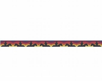 End Of The Day, pattern for loom or peyote
