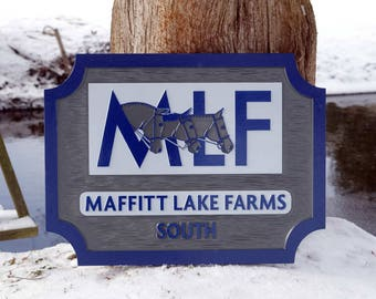 Custom Carved Business Signs - Dimensional Exterior or Interior Signage