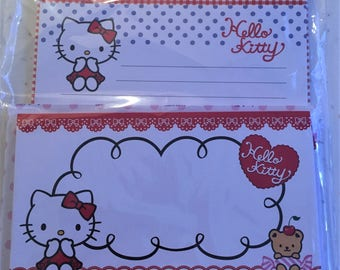 Hello Kitty Letterset and notepad