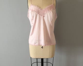 powder pink camisole   lace tank top