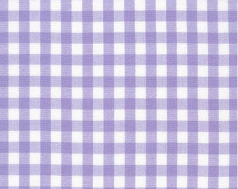 Gingham - Lavender 1/4 Inch Gingham from Robert Kaufman's Carolina Gingham Collection